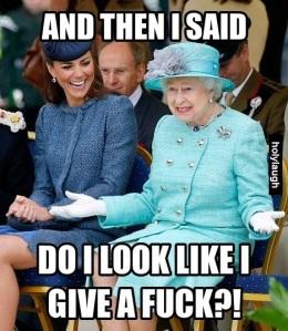 just queen elizabeth