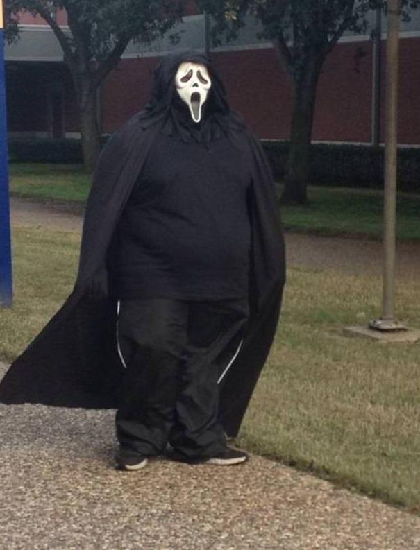 Scream has put on a few pounds recently.