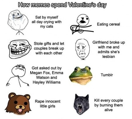 meme valentine