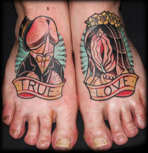 Tattoo Fail Extreme Ugly Feet Holy Laugh