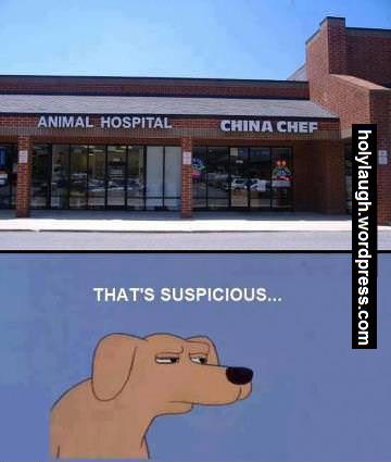 Really suspicious