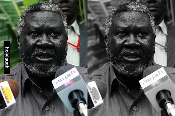 Monochrome African Man