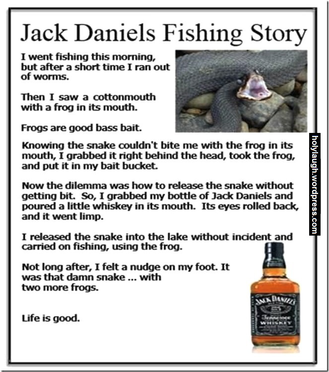 Why you should always have a bottle of Jack around