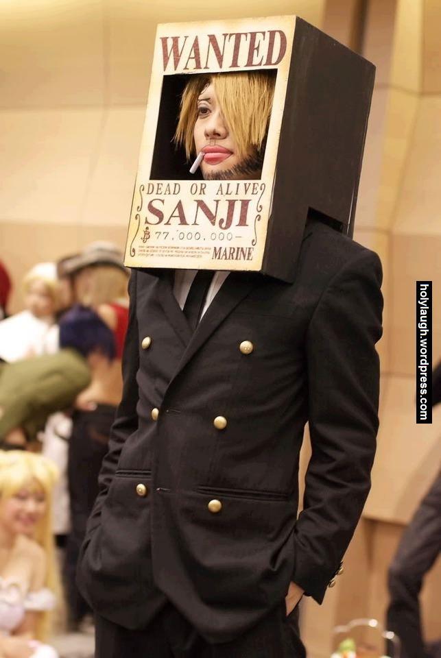 Epic sanji cosplay