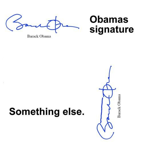 A hidden message from obama