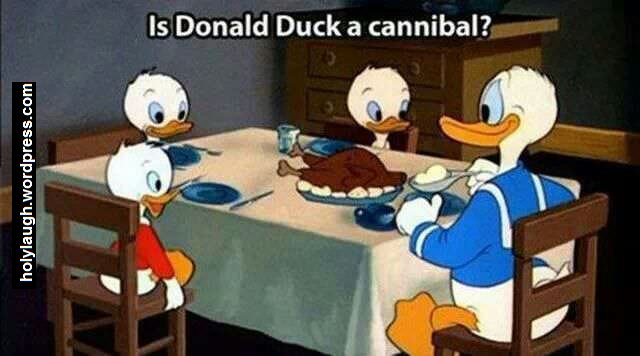 donald duck you cannibal