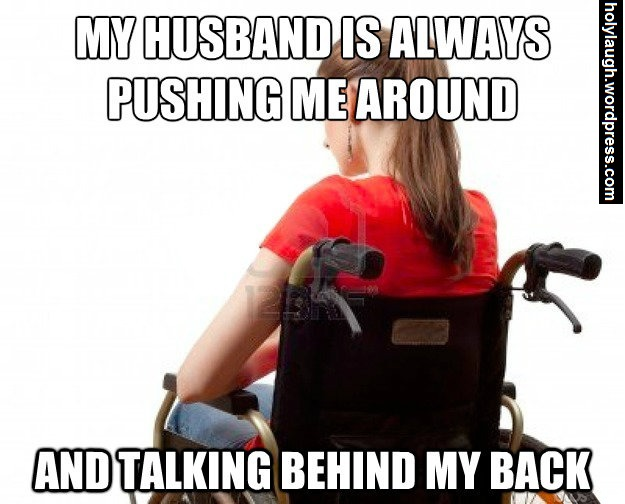 her husband is a jerk
