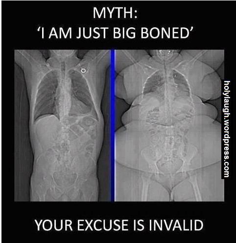 I'm just big boned
