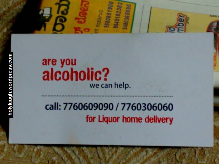 Are you alcoholic