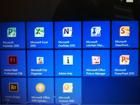 And this is why the Excel logo is an X
