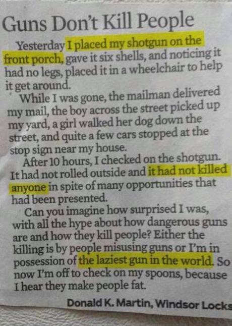 laziest gun ever