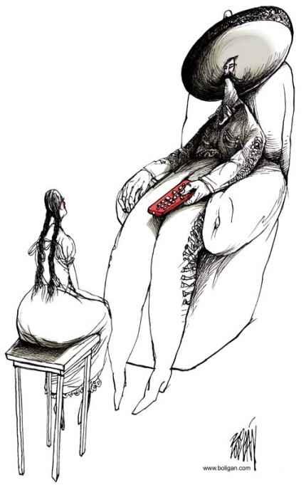 El macho y el control by Angel Boligán