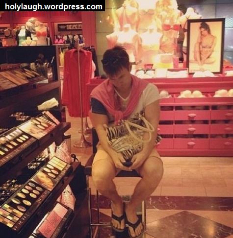 girlfriend shopping