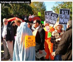 Trolling a protest lvl muslim