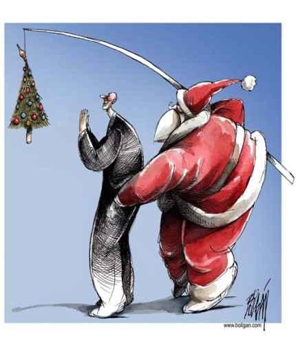 Estampa navideña by Angel Boligán
