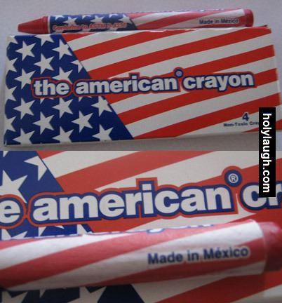 american crayon