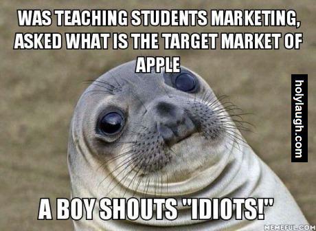 Target apple