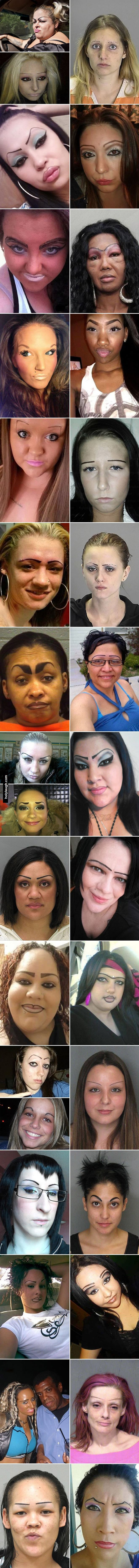 33 Women Who Dont Understand Eyebrows