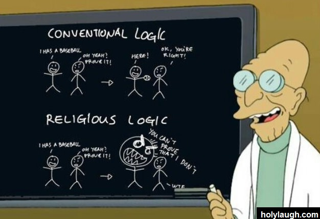 Futurama on religion