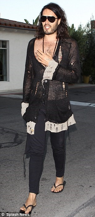 russell brand fashionist