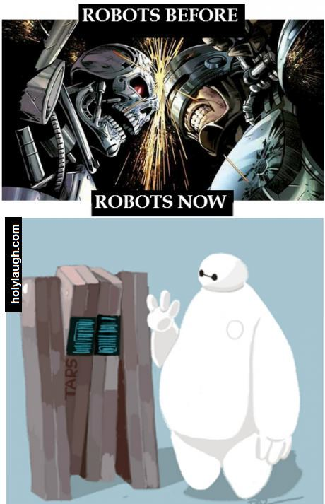 they ruined the robots image