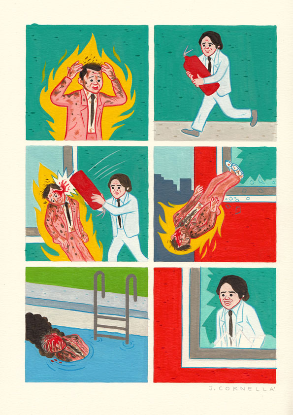 firefighter joan cornella