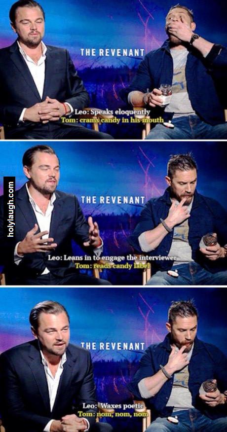 Leonardo DiCaprio vs Tom Hardy
